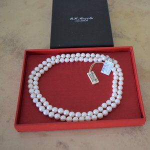 Macy's Fresh Water Pearl Strands Necklace